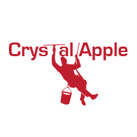 Logo: Crystal Apple Window Cleaning