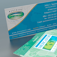 Business Cards (Mercator Companies/Mercator Industries)